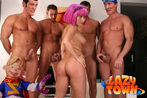 Lazy Town Cartoon Sex